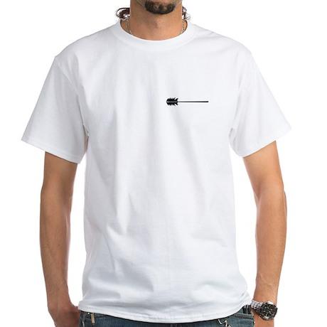 Flaming Spear White T-Shirt