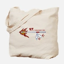 Flaming Spear Tote Bag