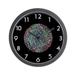 SERIES G:  Spinning Stars Retro Wall Clock