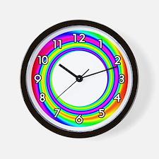 <b>RAINBOW SERIES:</b> Rainbow Circle Wall Clock