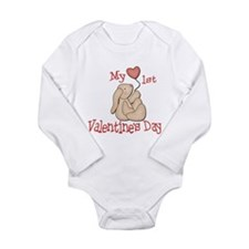 Baby's 1st Valentine's Day Long Sleeve Infant Body