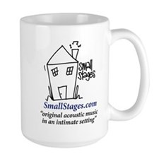 SmallStagesLogoMod2BlowUp01 Mugs