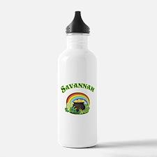 Savannah Georgia Irish Water Bottle