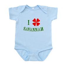 I Heart Savannah Infant Bodysuit