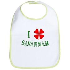 I Heart Savannah Bib