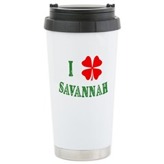 I Heart Savannah Travel Mug