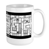 Dungeons dragons Large Mugs (15 oz)