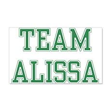 TEAM ALISSA 22x14 Wall Peel