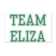TEAM ELIZA 22x14 Wall Peel
