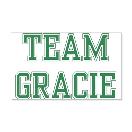 TEAM GRACIE 22x14 Wall Peel
