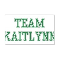 TEAM KAITLYNN 22x14 Wall Peel