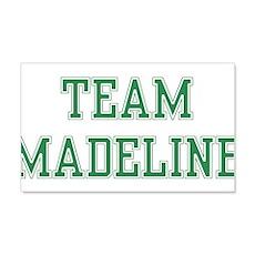 TEAM MADELINE 22x14 Wall Peel