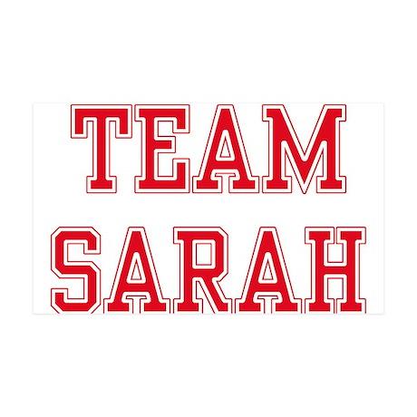 TEAM SARAH 38.5 x 24.5 Wall Peel