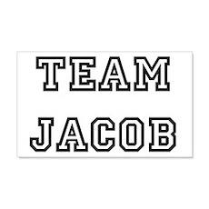 TEAM JACOB 22x14 Wall Peel