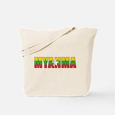 Burma Tote Bag
