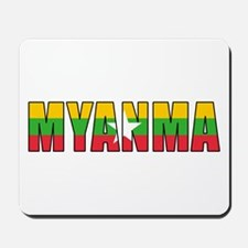 Burma Mousepad