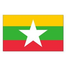 Burma Flag Decal