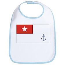 Burma Naval Ensign Bib