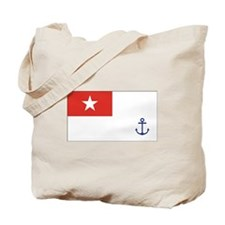 Burma Naval Ensign Tote Bag