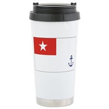 Burma Naval Ensign Travel Mug