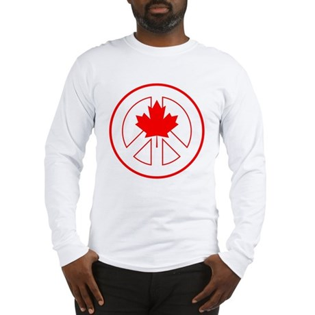 Peace Canada Long Sleeve T-Shirt
