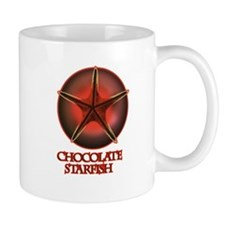 Chocolate Starfish Small Mug