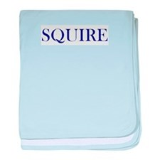 Squire baby blanket