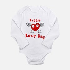 Love Bug Long Sleeve Infant Bodysuit
