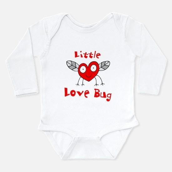 Love Bug Long Sleeve Infant Bodysuit