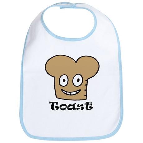 Toast Dude Bib