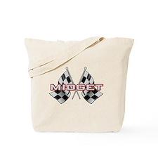 Midget Racing Tote Bag