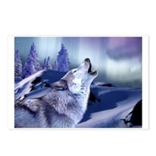 Winter Wolf Postcards (Package of 8)