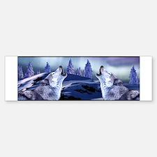 Winter Wolf Sticker (Bumper)