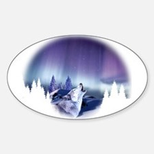 Winter Wolf Decal