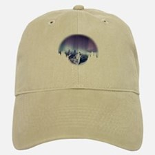 Winter Wolf Baseball Baseball Cap