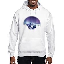 Winter Wolf Hoodie Sweatshirt