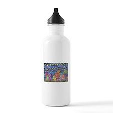 Village Lights Water Bottle