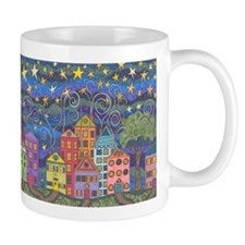 Village Lights Mug