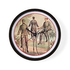 The Wheelmen Wall Clock