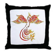 Cute Bird tattoo Throw Pillow
