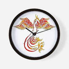 Cute Bird tattoo Wall Clock