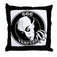 Cute Christopher lee Throw Pillow