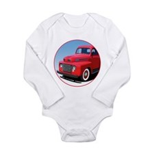 The First Generation Long Sleeve Infant Bodysuit