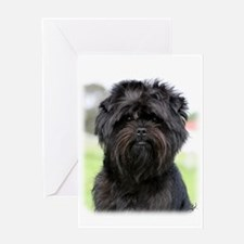 Affenpinscher 9Y516D-049 Greeting Card