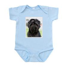 Affenpinscher 9Y516D-049 Infant Bodysuit
