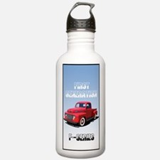 Unique 1948 ford truck Water Bottle