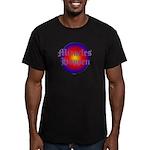 MIRACLES HAPPEN III Men's Fitted T-Shirt (dark)