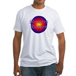 MIRACLES HAPPEN III Fitted T-Shirt