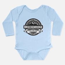 Breckenridge Grey Long Sleeve Infant Bodysuit