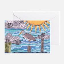Heron's Watch Greeting Cards (Pk of 10)